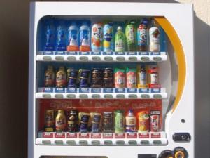 店の自販機